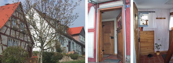 ferienhaus und ferienwohnung in michelstadt im odenwald rundgang. Black Bedroom Furniture Sets. Home Design Ideas